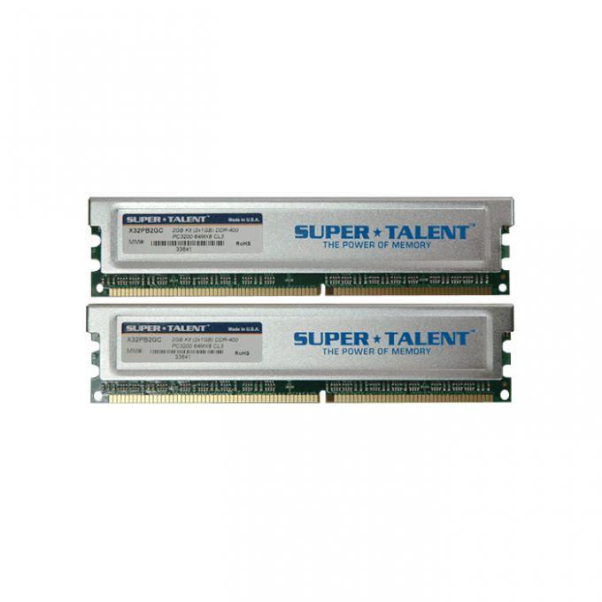 голяма снимка на KIT 2 X 1GB SUPER T DDR400