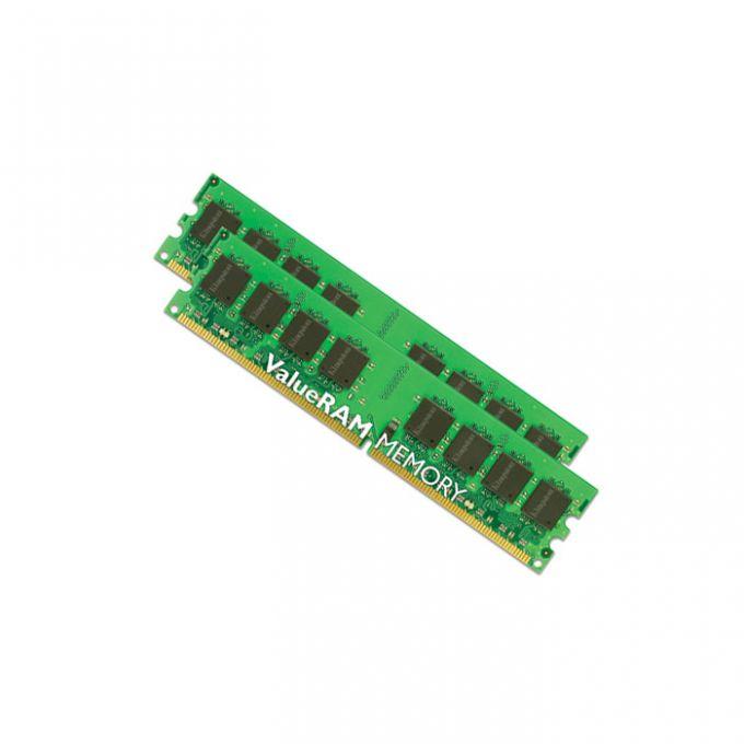 голяма снимка на KIT 2X1GB DDR2 800 KINGSTON