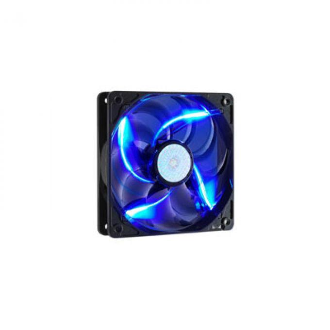голяма снимка на CM 120MM CASE FAN/BLUE LED/SLV