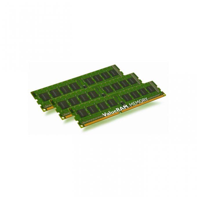 голяма снимка на KIT 3X2GB DDR3 1333 KINGSTON