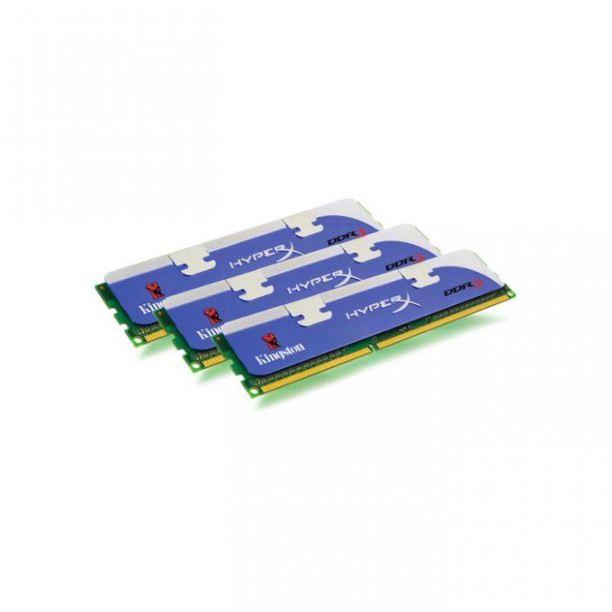 голяма снимка на KIT 3X1GB DDR3 1600 KINGSTON