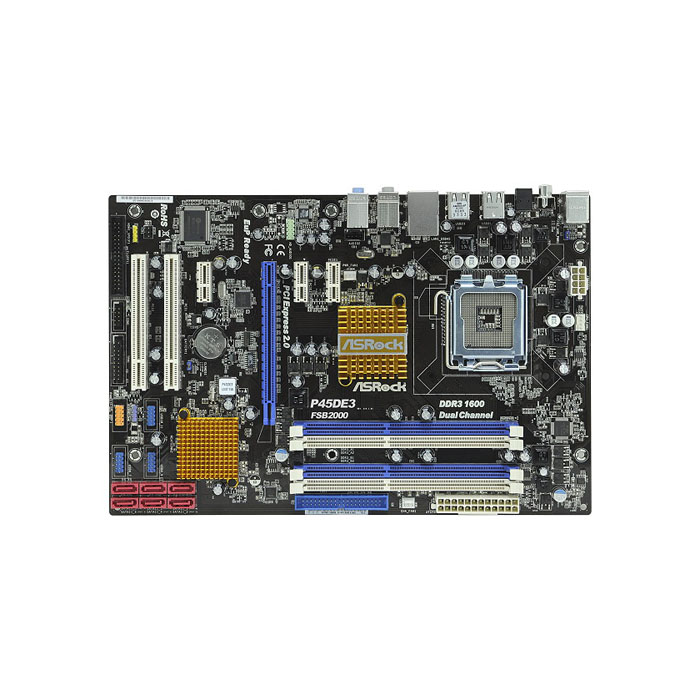 голяма снимка на ASROCK P45DE3/P45/LGA775