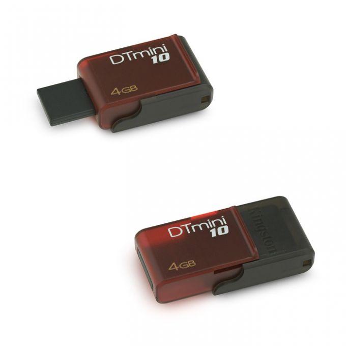голяма снимка на 4GB USB KINGSTON DT MINI 10