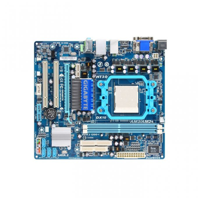 голяма снимка на GB MA78LM-S2H /AMD760G/AM2+