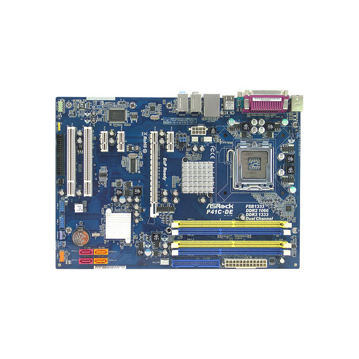 голяма снимка на ASROCK P41C-DE /G41/LGA775