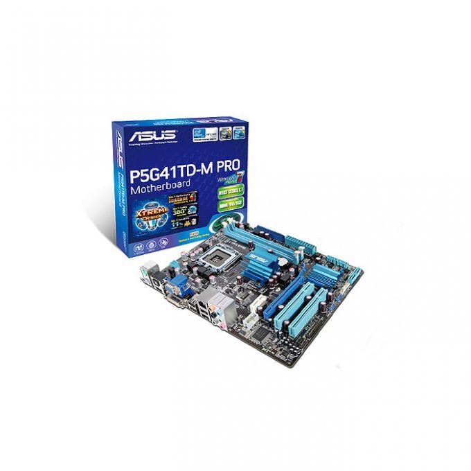голяма снимка на ASUS P5G41TD-M PRO /G41/LGA775