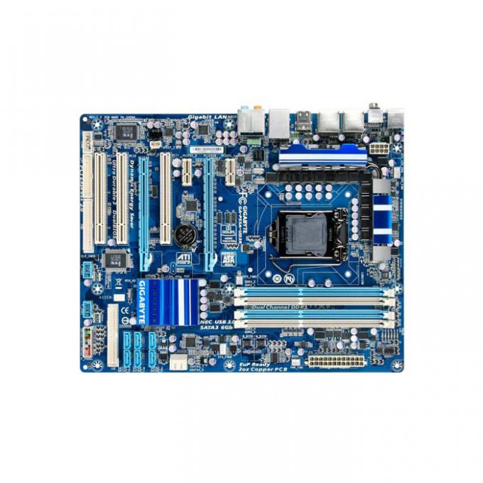 голяма снимка на GB P55A-UD3R /P55/LGA1156