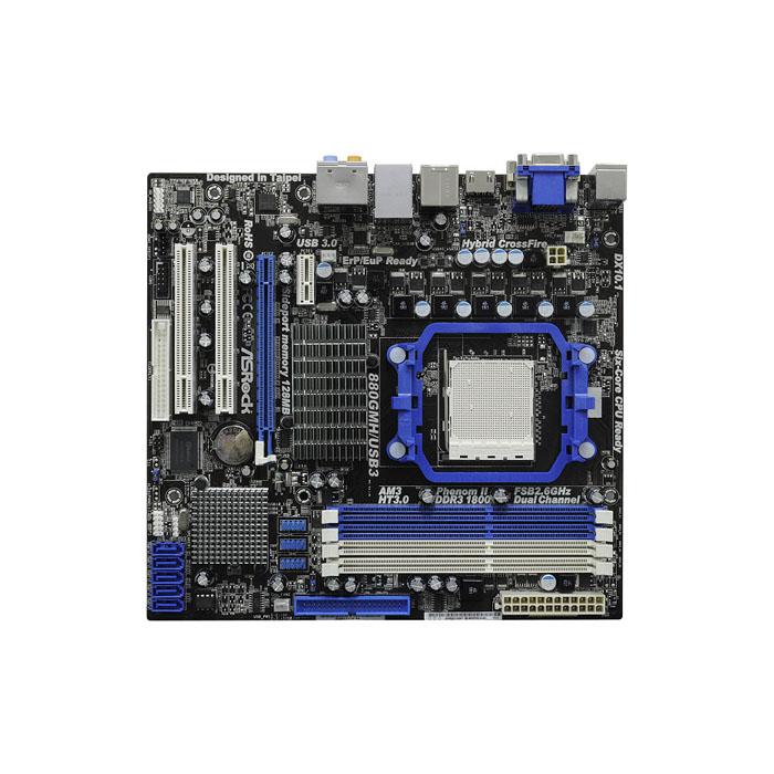 голяма снимка на ASROCK 880GMH/USB3 /AMD880G