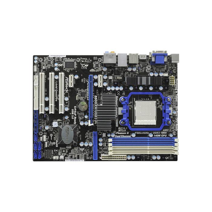 голяма снимка на ASROCK 880GXH/USB3/AMD880G/AM3