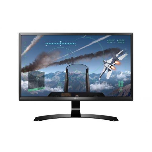 голяма снимка на LG 24 Class 4K UHD IPS LED Monitor 24UD58-B