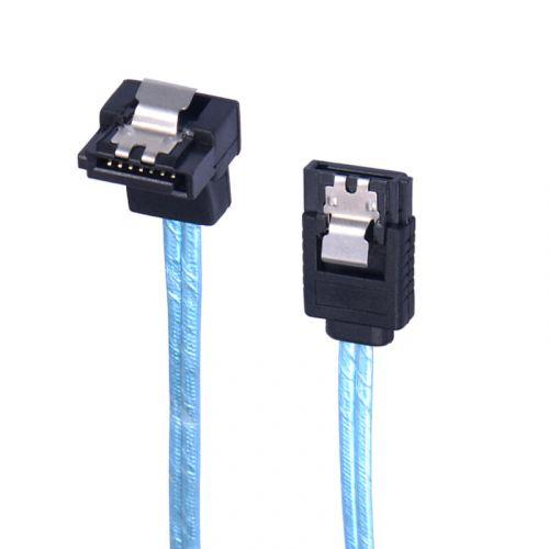 голяма снимка на Orico Cable SATA3 60cm Lock 1 Right angle CPD-7P6G-BA60