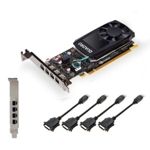 голяма снимка на PNY NVIDIA Quadro P620 V2 LowProfile VCQP620DVIV2-PB