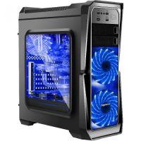 Segotep Case ATX GANK-II-BK USB3.0 3x120mm fans