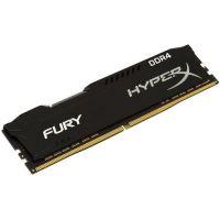 KINGSTON 8GB 2666MHz DDR4 CL16 HyperX FURY Black HX426C16FB2/8