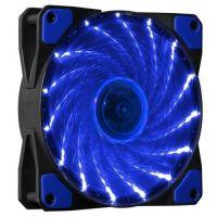 Makki Fan 120mm 15 BLUE LED lights MAKKI-FAN120-15BL