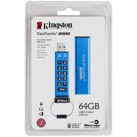 Kingston 64GB Keypad USB3 DT2000 256bit AES DT2000/64GB