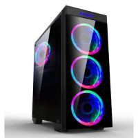 Makki Gaming Case ATX 8872-RGB 4x120mm