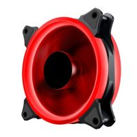Makki Fan 120mm RED LED Double Ring