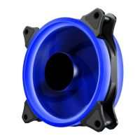 Makki Fan 120mm BLUE LED Double Ring