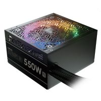 Gamdias PSU - ASTRAPE M1-550W RGB - 80 Plus APFC