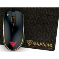 Gamdias Gaming Mouse ZEUS E2 OPTICAL + PAD NYX E1
