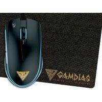 Gamdias Gaming Mouse ZEUS E1A + PAD NYX E1