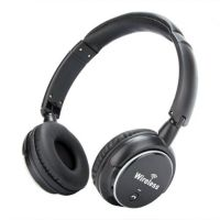 VCom Headphones Bluetooth FM radio microSD Aux M272