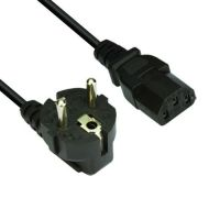 VCom Power Cord Computer schuko 220V 1.8m CE021-1.8m-0.75mm