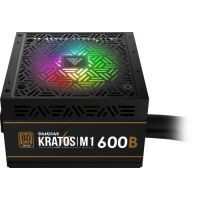 Gamdias PSU 600W Bronze Addressable RGB KRATOS M1-600B