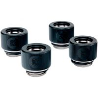 EKWB EK-HDC Fitting 12mm - Black 4-pack