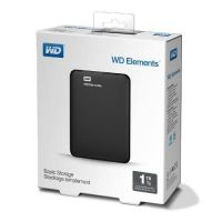 HDD 1TB USB 3.0 Elements Black WDBUZG0010BBK