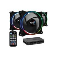 AeroCool Fan Pack ECLIPSE 12 Pro RGB Hub Remote ACF3-EL10217.12