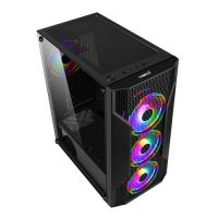 Makki Case ATX Gaming F09 RGB 3F Mesh