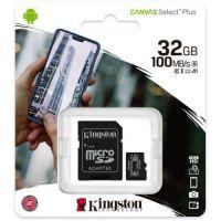 32GB SDMIC KINGST CANVAS SEL+