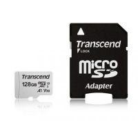Transcend 128GB UHS-I U3 V30 A1 micro Class10 Adapter TS128GUSD300S-A
