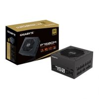 GIGABYTE GP-P750GM 7 50W ATX 12V v2.31 80 PLUS Gold certified Power Supply GP-P750GM
