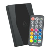 Arctic A-RGB controller with RF remote control - ACFAN00180A